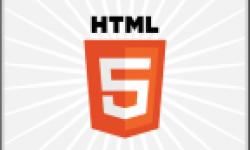 HTML5 logo head vignette