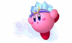 kirby art vignette head