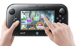 New Super Mario Bros. U wii u gamepad new super mario bros u