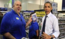 Obama best buy Just Dance 3 vignette head