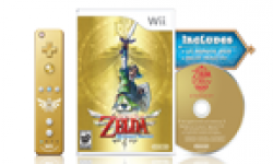 skyward sword boxart cover jaquette gold wiimote vignette head