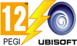 vignette icone head ubisoft pegi 12 logo