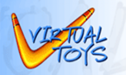 virtual toys logo vignette head