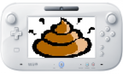 Wii U GamePad caca merde crap image head vignette