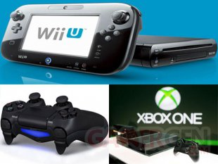 xbox one vs wii u vs ps4 comparing the new gaming consoles