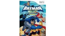 batman alliance des heros wii jaquette