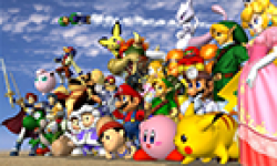 super smash bros melee characters vignette head